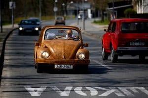 Деревянный тюнинг Volkswagen Beetle
