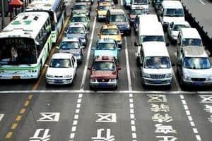 Шанхайская система продажи номеров на авто