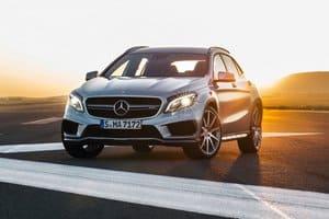 Новый Mercedes-Benz GLA45 AMG