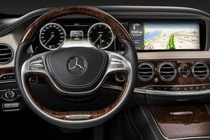 Основные функции навигации Mercedes S класса