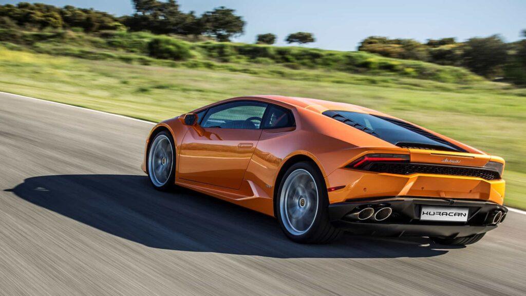Lamborghini Huracan LP 610-4 оранжевый