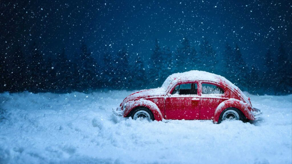 как завести машину зимой фото