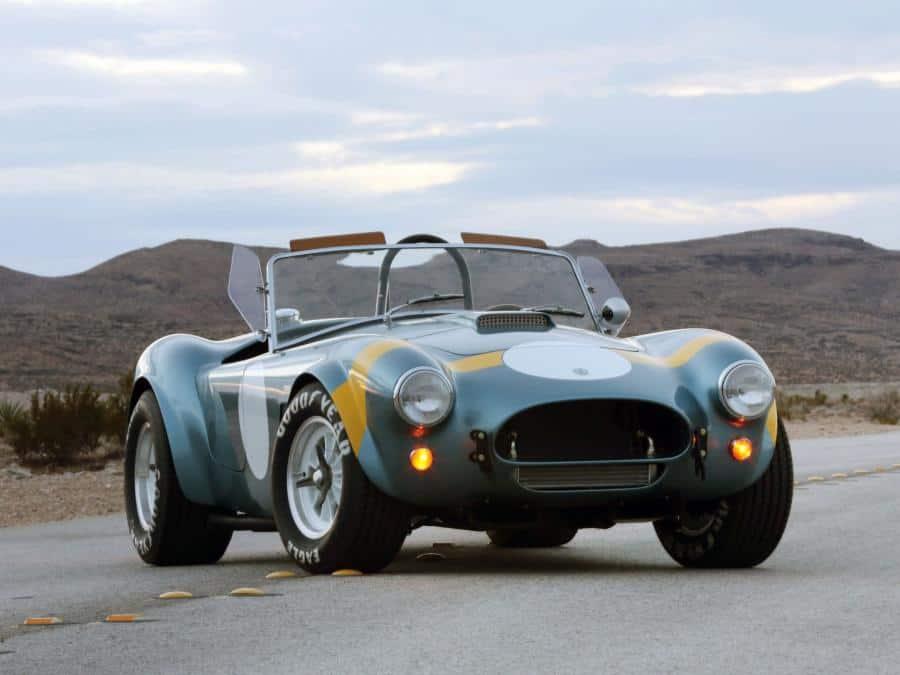 Shelby FIA Cobra машина фото
