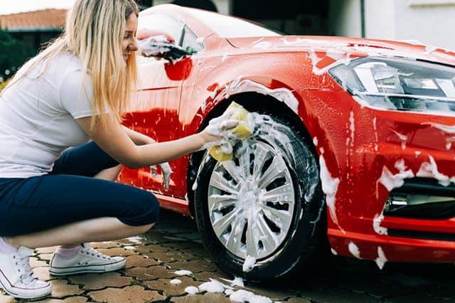 Как помыть автомобиль фото