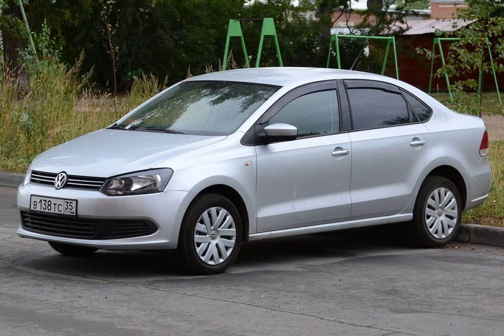 Volkswagen Polo 2014 автомобиль фото