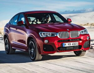 BMW X4 2015 автомобиль фото