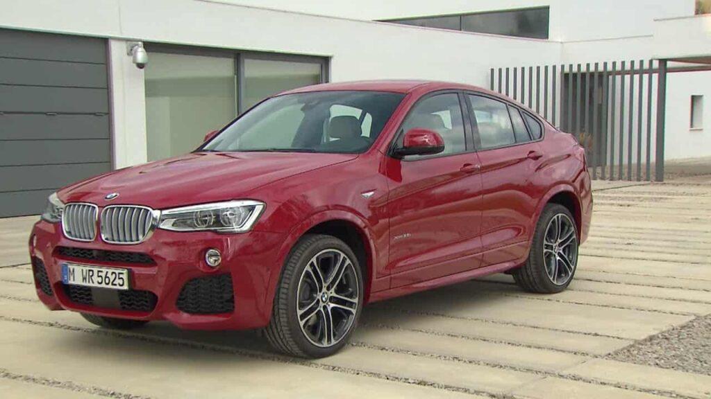 BMW X4 2015 машина фото