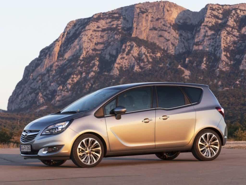 Opel Meriva 2014 автомобиль фото
