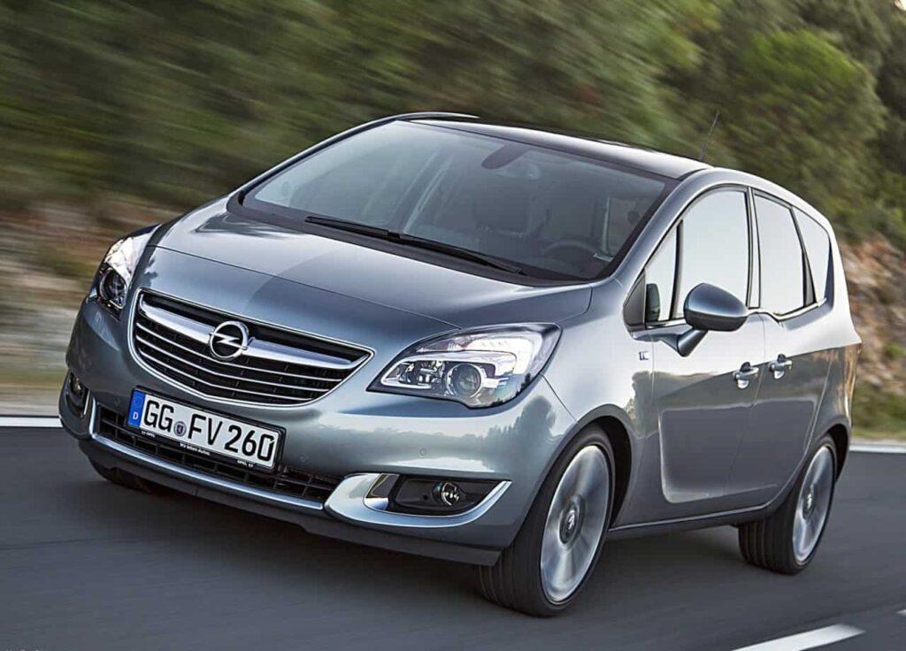 Opel Meriva 2014 машина фото