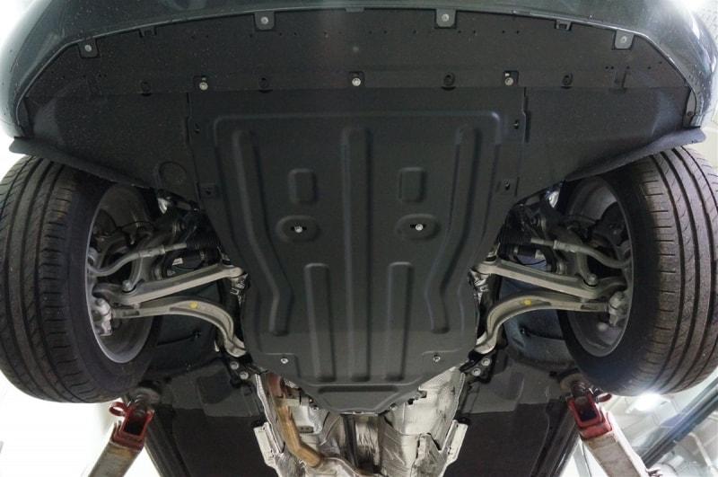 защита картера двигателя фото