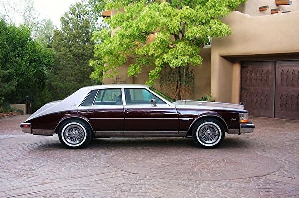 Cadillac Seville бордовый фото