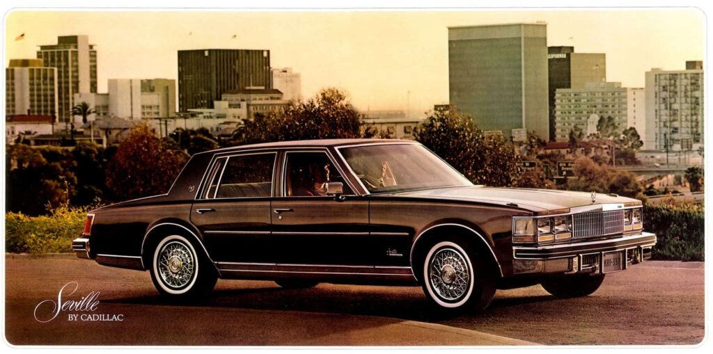 Cadillac Seville машина фото
