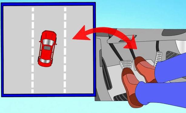 Как правильно тормозить на автомобиле фото