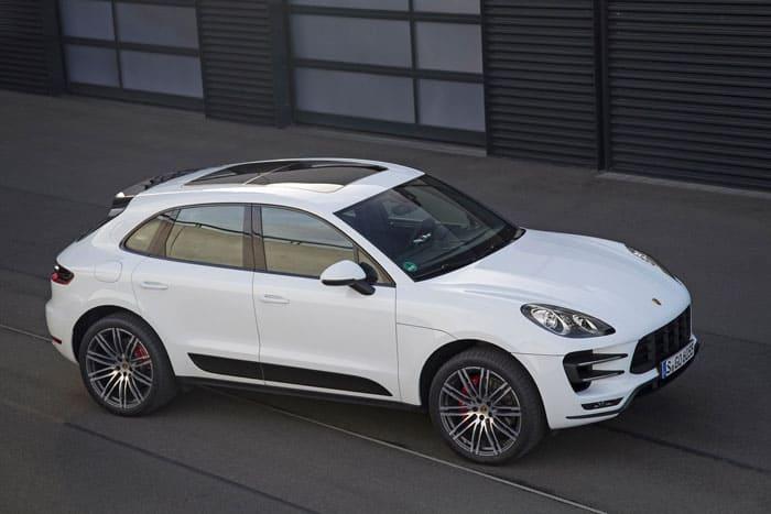 Porsche Macan 2015 белый фото