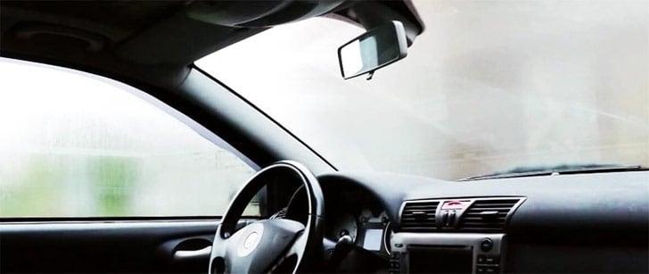 запотевание стекол в авто фото