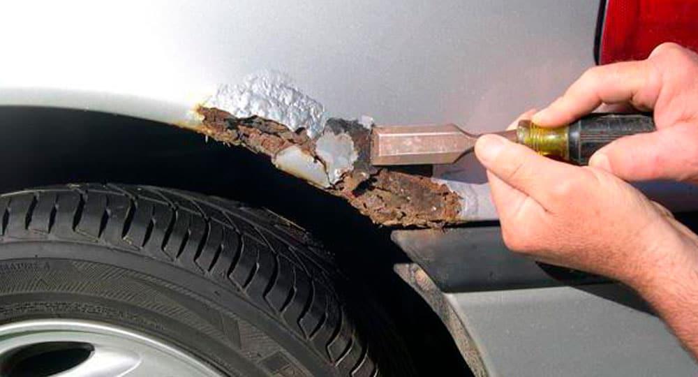 Как убрать ржавчину с кузова автомобиля фото