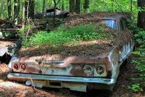 Свалка старых автомобилей Old Car City