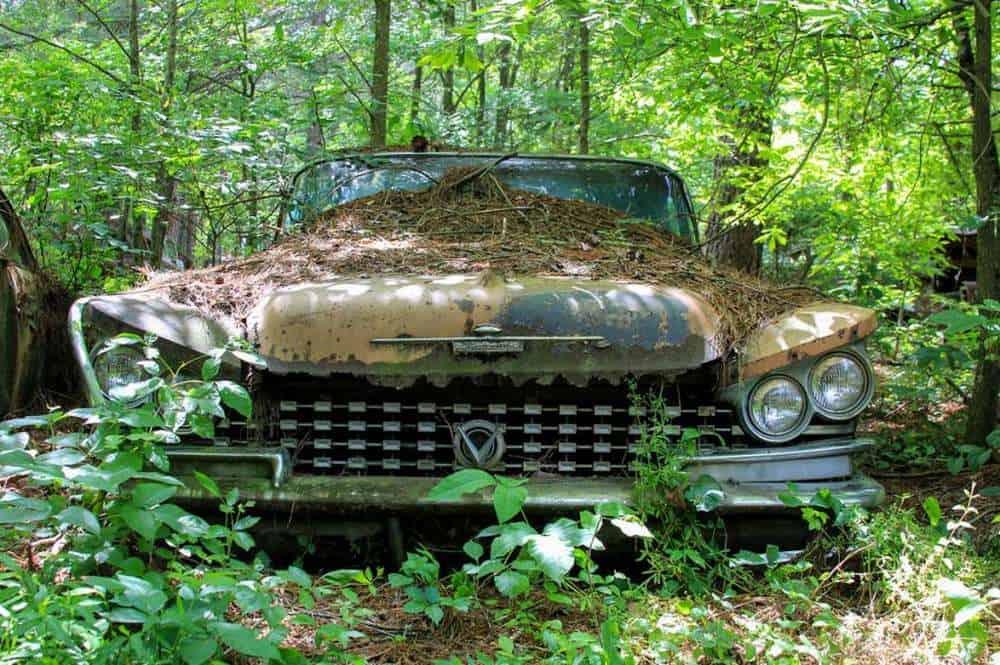 Свалка Old Car City фото