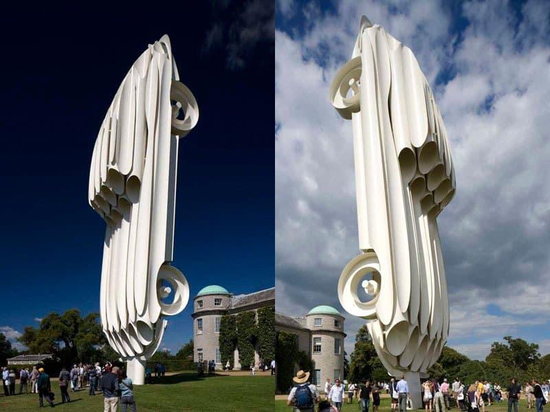 гигантские автомобильные скульптуры Джерри Джуда