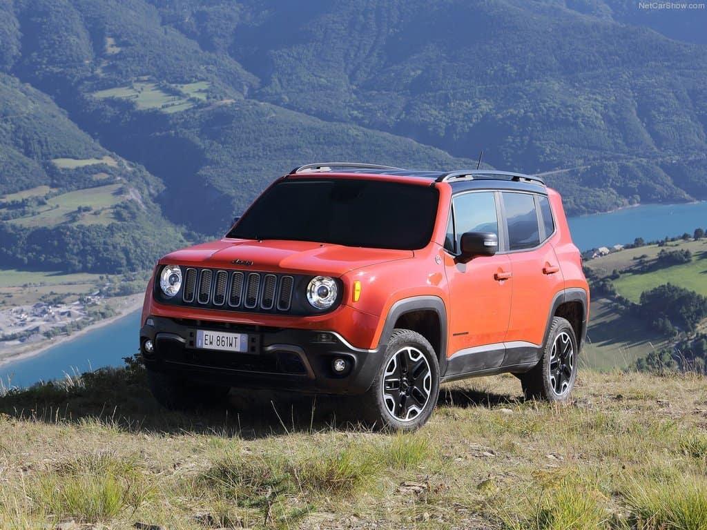 Jeep Renegade 2015 автомобиль фото