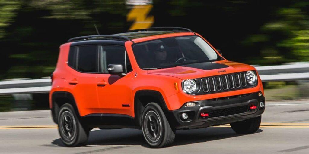 Jeep Renegade 2015 машина фото