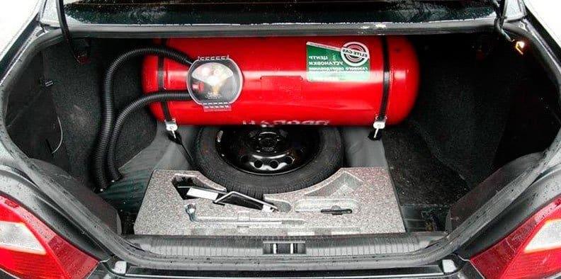 установка газа на автомобиль фото