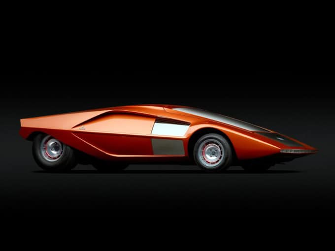 суперкар Lancia Stratos Zero фото