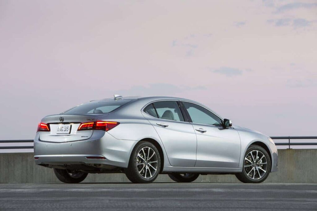 Acura TLX 2015 машина фото