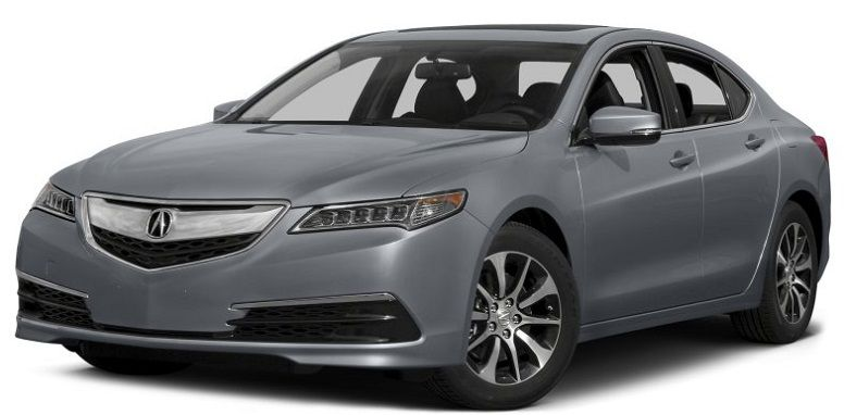 Acura TLX 2015 серый фото