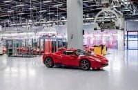 Завод Ferrari в Италии