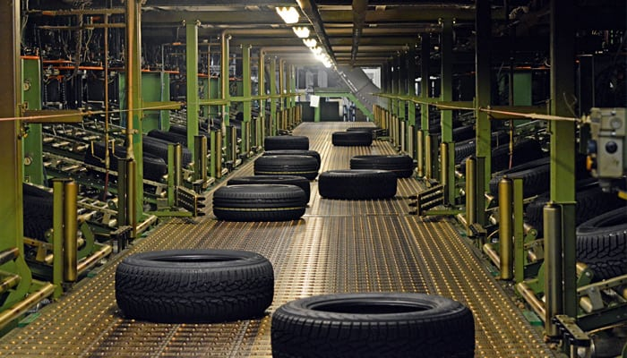 производство шин на заводе фото