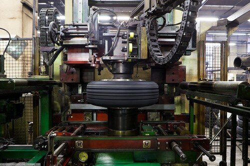 Технология производства автомобильных шин фото