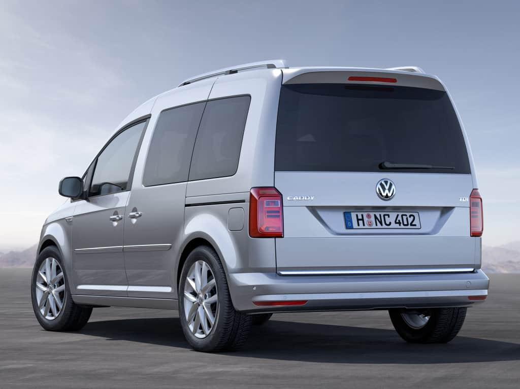 Volkswagen Caddy 2016 автомобиль фото
