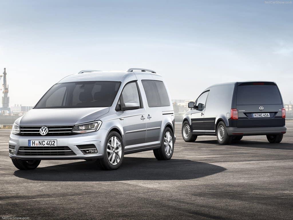 Volkswagen Caddy 2016 машина фото