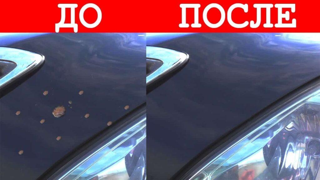 Подкраска сколов на автомобиле фото