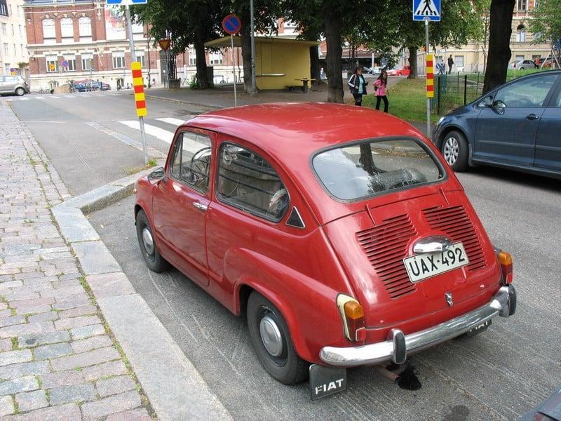 Fiat 600 автомобиль фото
