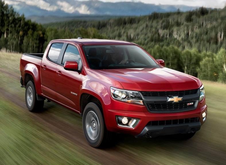 Chevrolet Colorado 2015 машина фото