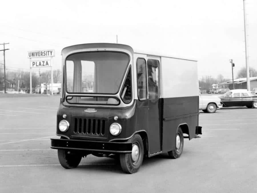 Jeep FJ Fleetvan фото