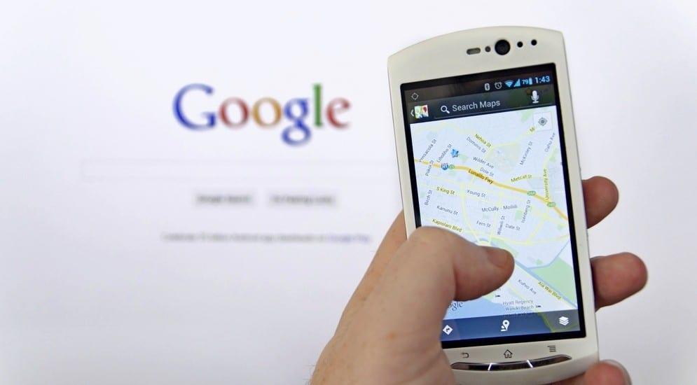 навигации Google теперь работает offline фото