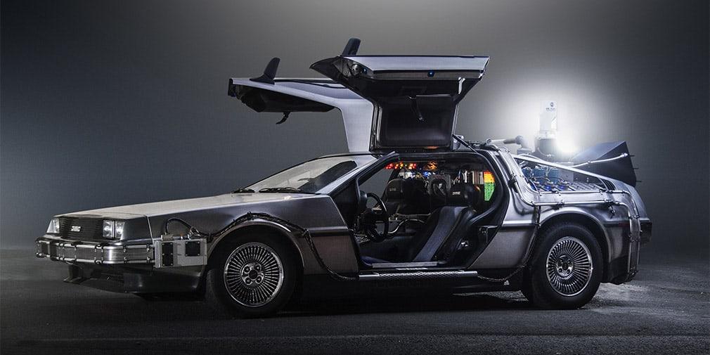 DeLorean машина фото