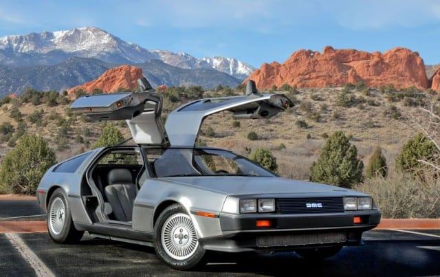 История марки DeLorean автомобиль фото