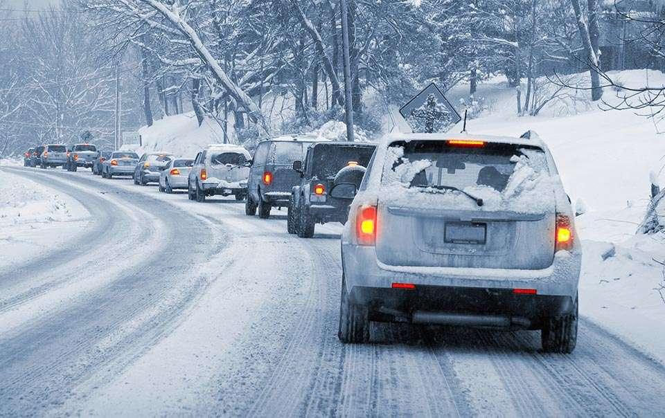 Правила вождения автомобиля зимой фото