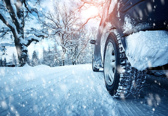 вождение в зимнюю пору фото