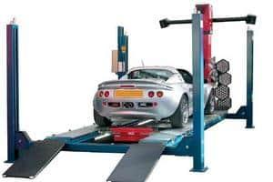 Регулировка развала и схождения колёс автомобиля
