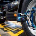 развал и схождения колёс автомобиля фото