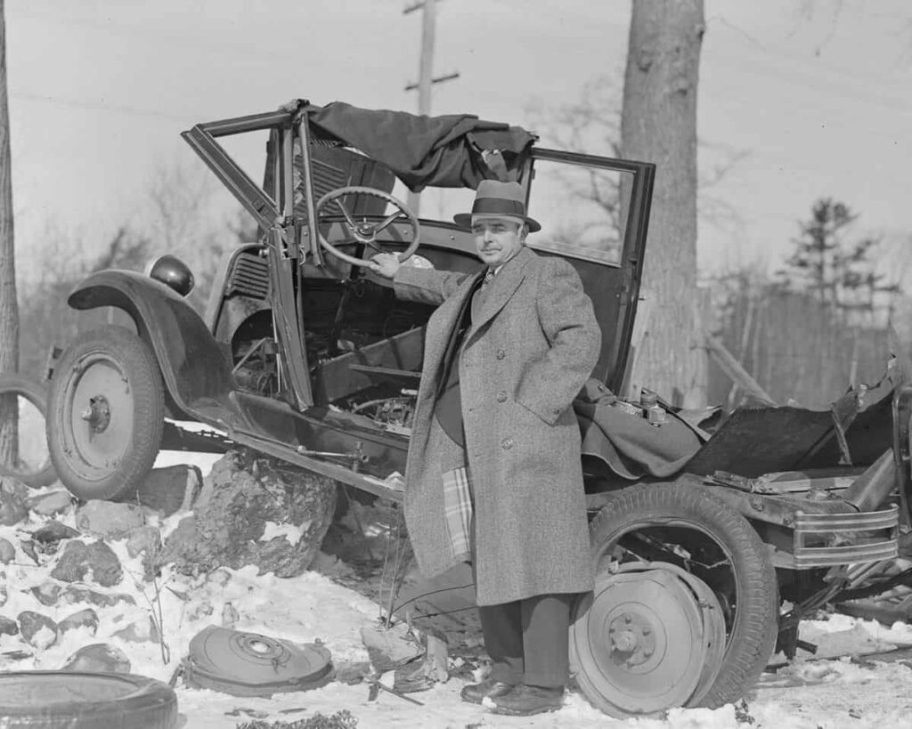 ДТП 1930-х годов - как выглядела автомобильная авария фото