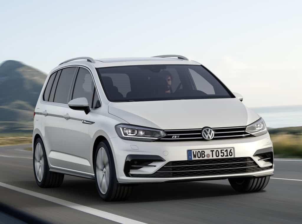 Volkswagen Touran 2016 автомобиль фото
