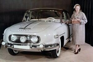 Представительский седан Tatra T603 1956 года