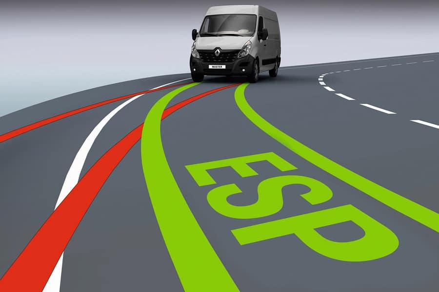 Как работает электронная система динамической стабилизации автомобиля ESP фото