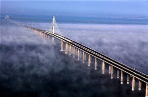 Циндаоский мост через залив